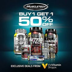 DEMO TODAY ONLY  Last 2 days to enjoy the sale!!! Location: Vitamin Shoppe  Address: 2692 Canyon Springs PKWY - Riverside CA 92507 Time: 11AM to 2PM  Enjoy BUY 1 GET 1 50% OFF mix and match all MuscleTech! Visit me at the demo and receive a FREE shaker and shirt with any MuscleTech purchase. BOGO 50 promotion ends January 28th 2016! #GetYourGoalOn #VitaminShoppe #California #Riverside  #MuscleTech #TeamMuscleTech #OnAMission #Mission1 #Mission1Bar #fitness #athlete #exercise #fitfam #gym…