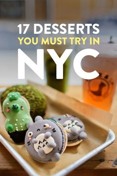 17 Best Dessert Places in NYC // Local Adventurer Foodie travel 17 Best Desserts in NYC + Desserts You Should Skip New York Desserts, Great Desserts, Nyc Tourist Attractions, Foodie Travel, Places To Eat, Street Food, Blog, Food And Drink, Adventurer