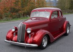 Fred Fish, 1936 Dodge Business Coupe, 2014 Northeast Collector Car Finalists   Hotrodhotline.com