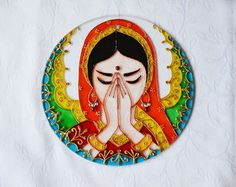 26 Ideas for glasses painting ideas mandala Mandala Art, Glass Painting Patterns, Cd Crafts, Diwali Craft, Cd Art, Madhubani Art, Indian Folk Art, Indian Art Paintings, Art Corner