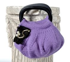 Knit in the Round Handbag. $3.25 knitting pattern on Craftsy.com.