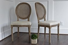 $430.00  Edloe Finch Charlie Dining Chair - Set Of 2