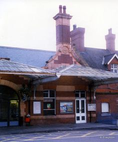 Kettering, in Northamptonshire, England Many train trips from here