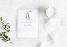 These classic Velveteen Rabbit invitations are the perfect starting point as you plan the perfect day for your little one. Let these beautiful watercolor digital invitations inspire the rest of your party and give you a vision for the perfect party décor. Whether you are going all Pinterest or keeping it sweet and simple we would LOVE to be a part of your big day! If you would like to customize this as a baby shower invitation just let me know in the notes section and Ill make it happen…