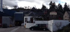 Aberlour Distillery site where the famous Speyside Malt Whisky is produced