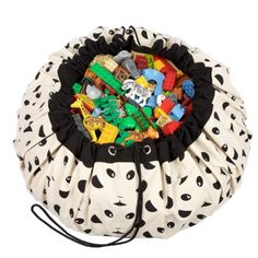 Play & Go Opbergtas/Speelkleed - Panda
