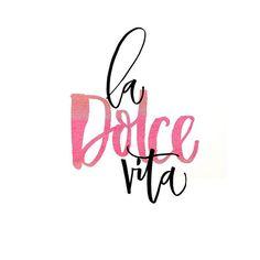 La dolce vita - 為親愛的那人而作