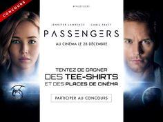 Concours Passengers : gagnez 20 places de ciné + 30 T-shirts manches longues