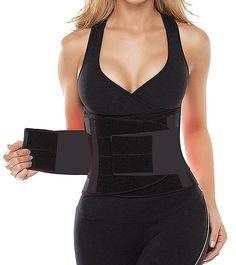 05fc339e6 Women s Waist Trainer Belt High Strength Neoprene 5 Colors to Select from -  Black - C417Z7GRQ5T