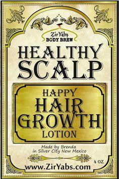 Alopecia Hair Growth Lotion Healthy Scalp & Happy Hair Zinc   Etsy #BakingSodaForDandruff