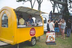 #streetfood #newzealand #bubblewaffle #yellowpoint