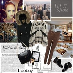 """Warm and chic"" by electric-bird ❤ liked on Polyvore"