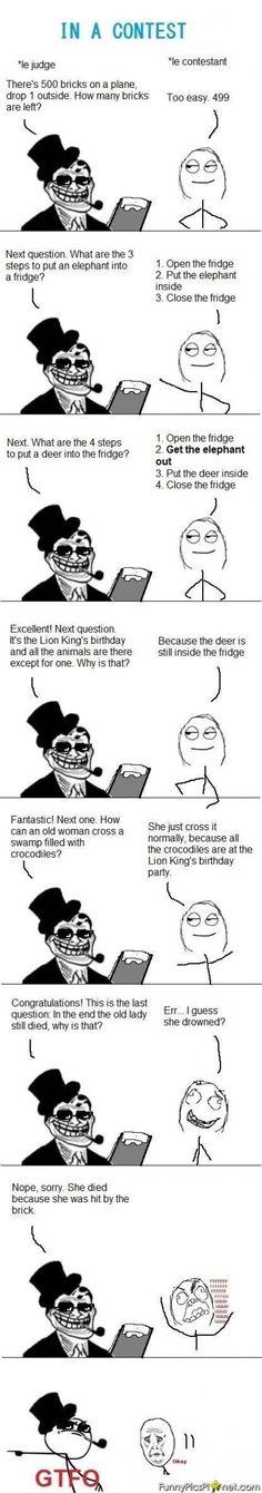 Trolling Contest