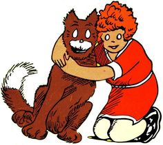 Little Orphan Annie and Sandy