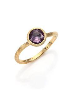 Marco Bicego - Jaipur Amethyst & 18K Yellow Gold Ring