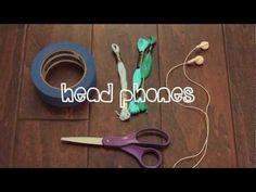 DIY l Wrapped Headphones