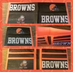 Cleveland Browns Duct Tape Wallet  $8