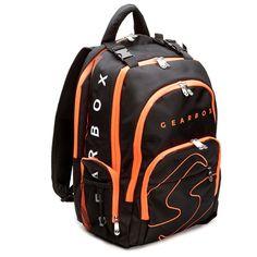 Gearbox Prism Backpack – Black/Orange