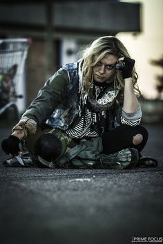 Opting Out - Prime Focus Photography - Post-Apocalyptic Portraits