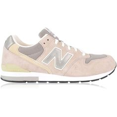 NEW BALANCE Mrl996ag Trainers (1.824.190 IDR) ❤ liked on Polyvore featuring shoes, sneakers, leather sneakers, real leather shoes, new balance, new balance shoes and laced up shoes