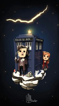 DOCTOR 11 AND AMY POND
