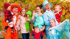 Ellie, Jared, Bonnie, Joel, and their Kids!