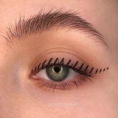 eye makeup tips we learned that got us so many compliments 18 ~ thereds. Eye Makeup Tips, Makeup Goals, Skin Makeup, Makeup Inspo, Makeup Art, Makeup Inspiration, Beauty Makeup, Makeup Style, Retro Eye Makeup