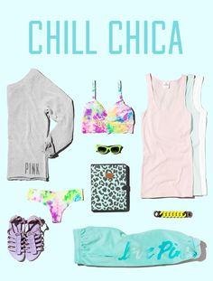 I'm a #VSPINK Chill Chica!
