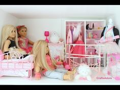 American Girl Doll House Tour - The Ballerina Themed Bedroom ~HD PLEASE WATCH IN HD~ - YouTube