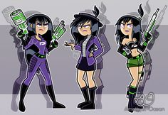 Do you rember the first sketches that Butch made in his video before the last one of Sam? Here I re-made them in Danny Phantom style! .D