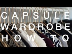 It's so easy to have a capsule wardrobe you adore where each piece works harmoniously together. I seriously love my capsule wardrobe.
