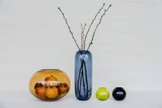 Norwegian designers Domaas/Høgh developed a series of vases that encourages experimentation with aesthetic still life in your home. The bright colours of these Plipp, Plopp & Plomma vases enhance the visuals of the flowers or fruits you put in, and this creates a focal point in the room.