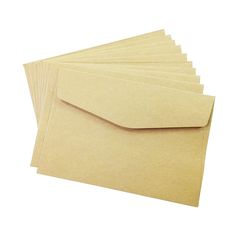 100PCS/lot  simple Kraft paper envelope 160*110mm gift wedding envelopes Window card envelope