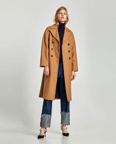 ZARA - WOMAN - LONG OVERSIZED COAT