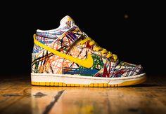 "Nike Dunk High GS ""Crayon Scribble"" (2014)"