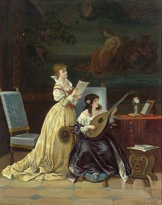 Women and Music in Painting 16-18th c