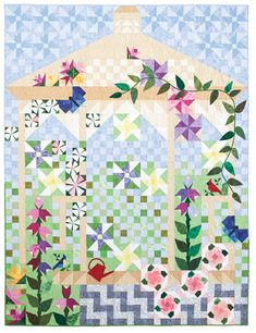 Quiltmaker''s Garden takes elements from many QM quilts over the years and combines them into one beautiful garden gazebo. Pattern appears as a five-part series in 2012 issues.