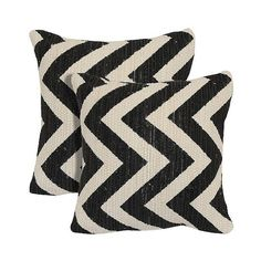 Zig Zag Printed 2 Pack Chindi Toss Pillow - Black ($35) ❤ liked on Polyvore featuring home, home decor, throw pillows, black, decorative accent pillows, decorative pillow set, soft home, black accent pillows, zig zag throw pillows and black throw pillows