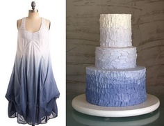 only from blue to silver (Just the cake)