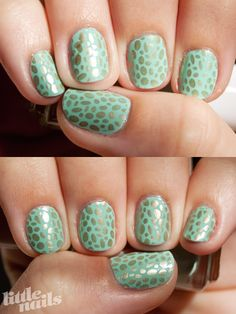 love this girls blog, she keeps her nails shorter and still they look amazing!
