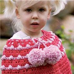 Crochet Poncho for Ellianna