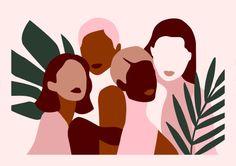 Alexandra de Assunção artist invests the Paris boutique stationery arty Sergeant Paper with its Muses exhibition. The opportunity to meet the illustrator and ask him some questions. Art Inspo, Pop Art, Buch Design, Design Art, Art Et Illustration, Feminist Art, Art Graphique, Grafik Design, Aesthetic Art