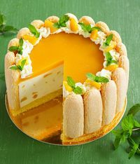 59 delicious dessert pictures, happiness is the taste of dessert; every dessert has a story. - Page 49 of 59 - zzzzllee Charlotte Au Fruit, Charlotte Cake, Charlotte Dessert, Sweet Recipes, Cake Recipes, Dessert Recipes, Food Cakes, Cupcake Cakes, Cupcakes