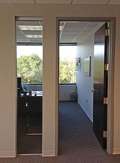 Interior Office, Interior Doors, Office Interiors, Office Doors, Office  Lighting, Corporate Offices, Office Designs, Office Ideas, Sliding Door