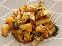 Cheezy Vegetable Bake   FaveHealthyRecipes.com
