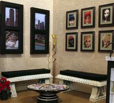 Doll Divas - Diorama Portfolio....hair salon waiting area