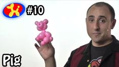 One Balloon Pig - Balloon Animal Lessons #10