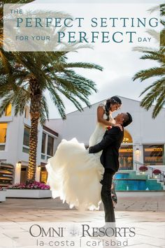 Your perfect day at the perfect location. Book your dream wedding at Omni La Costa Resort & Spa.