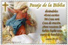 Vidas Santas: Santo Evangelio según san Lucas 19:46