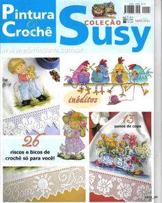 Coleção Susy Pintura em Tecido e Crochê nº 09 - RAQUEL Antunes - Picasa Web…